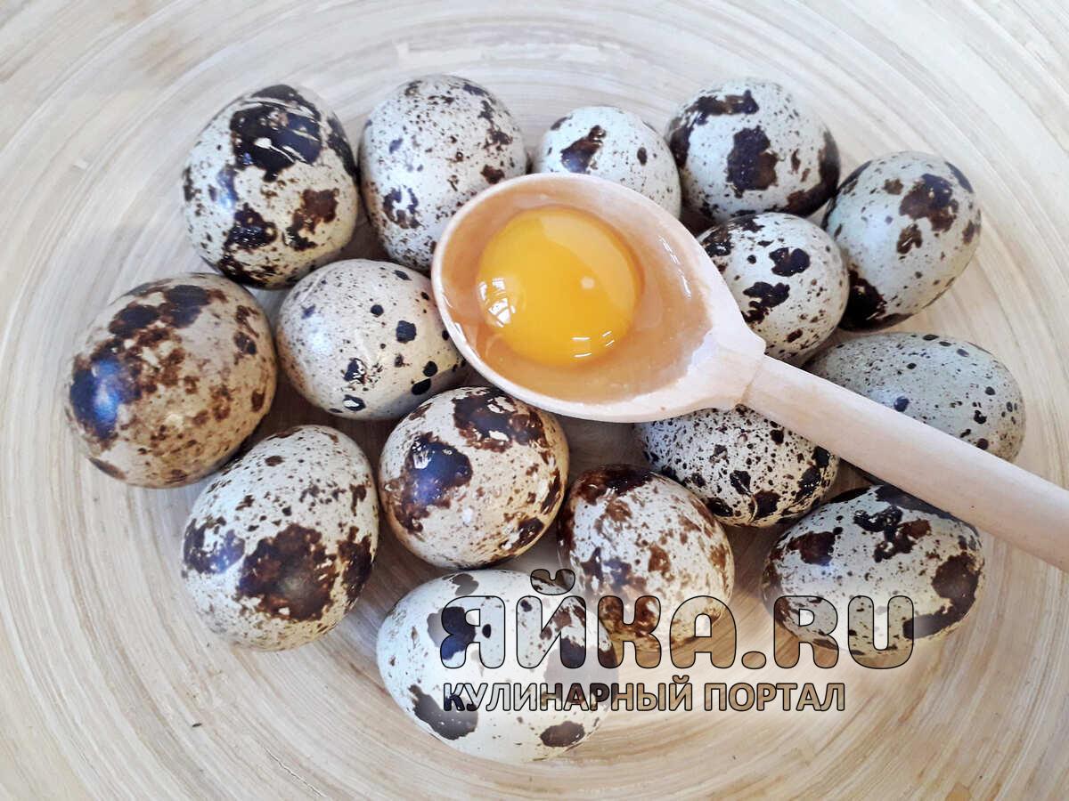 Проверка свежести перепелиных яиц