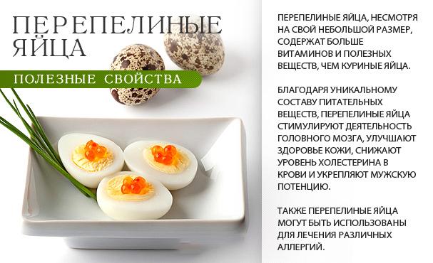 Полезные свойства перепелиного яйца