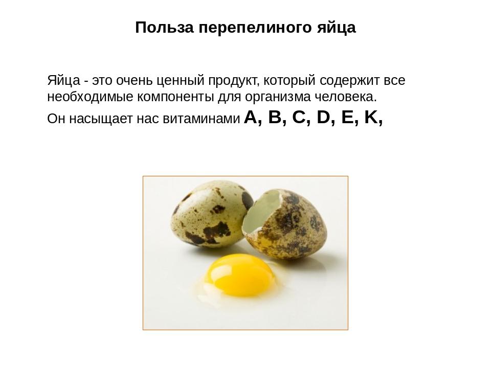 Полезные свойства яиц