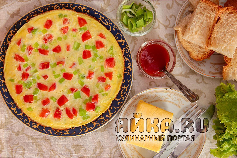Омлет с кабачками — вкуснейший рецепт на каждый день