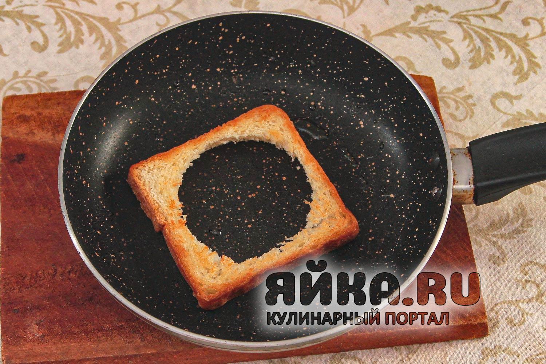 Подрумяниваем хлеб