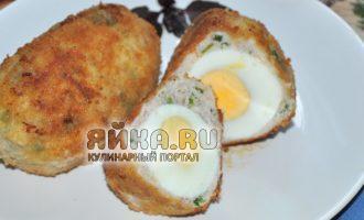 Яйцо и фарш