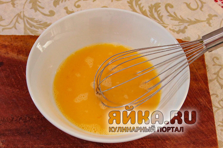 Взбалтываем яйца